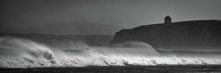 Mussenden Waves Photograph