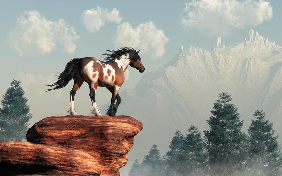 Mustang Valley Digital Art