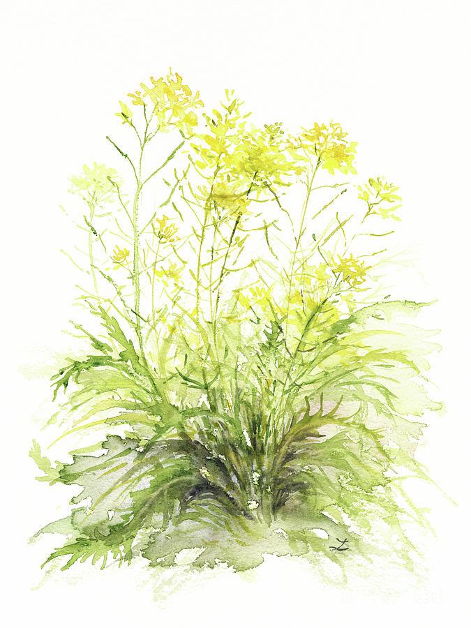 Mustard Flowers Painting