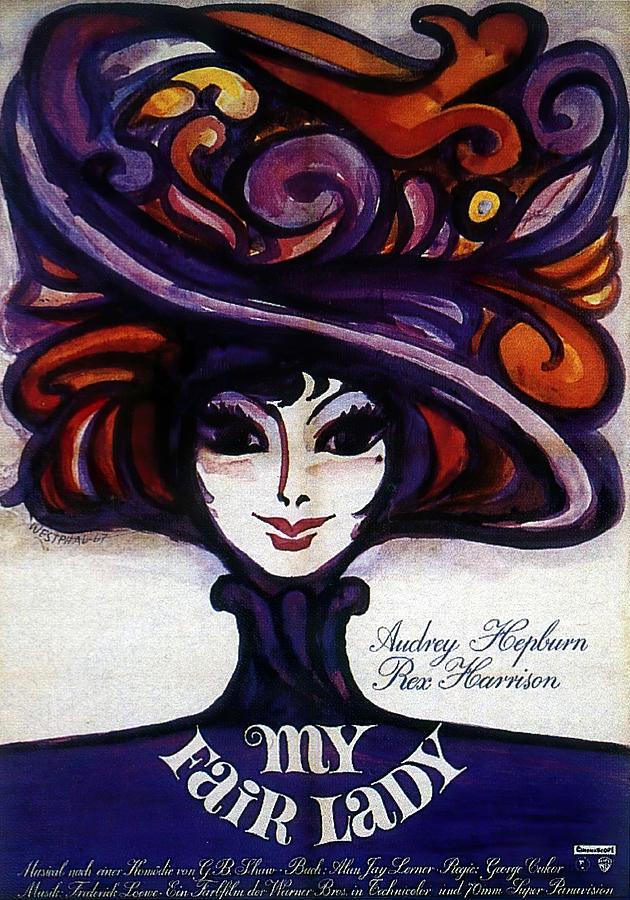 my Fair Lady, With Audrey Hepburn, 1964 Mixed Media