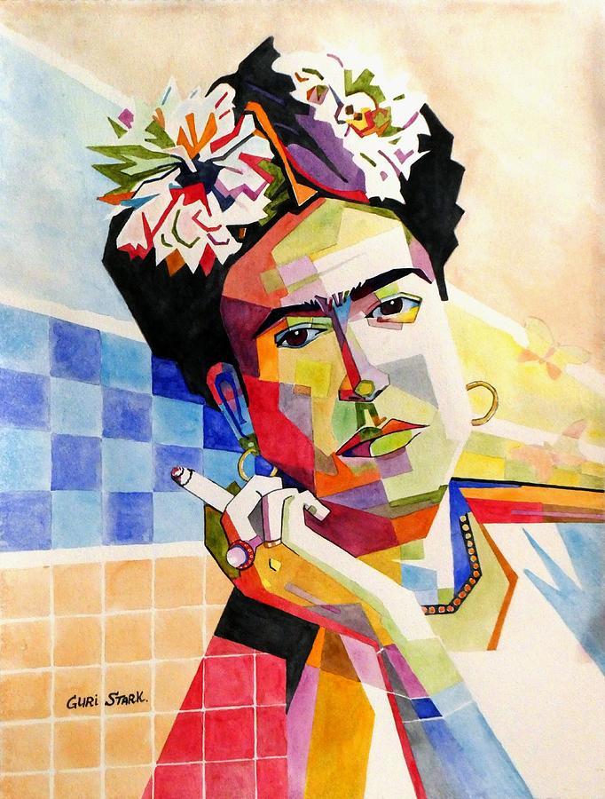 Frida Kahlo Painting - My Frida by Guri Stark