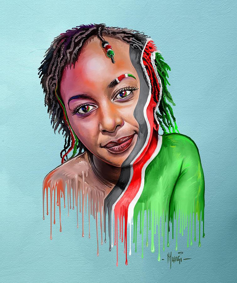 My Land Is Kenya Painting