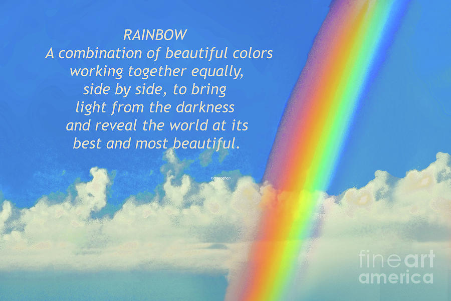 My Rainbow Definition Photograph