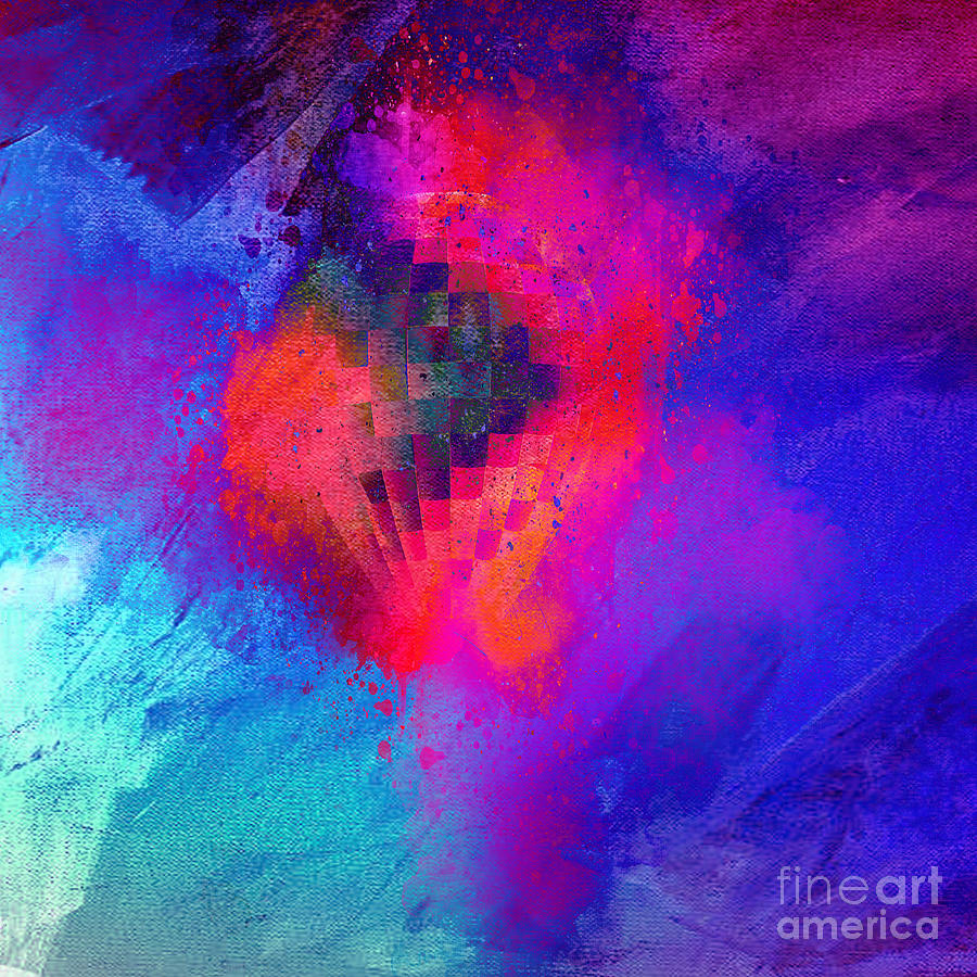 Abstract Mixed Media - My Soul Says Yes by Beverly Guilliams