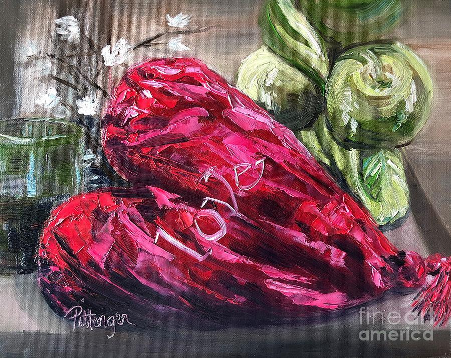 My Velvet Heart Painting