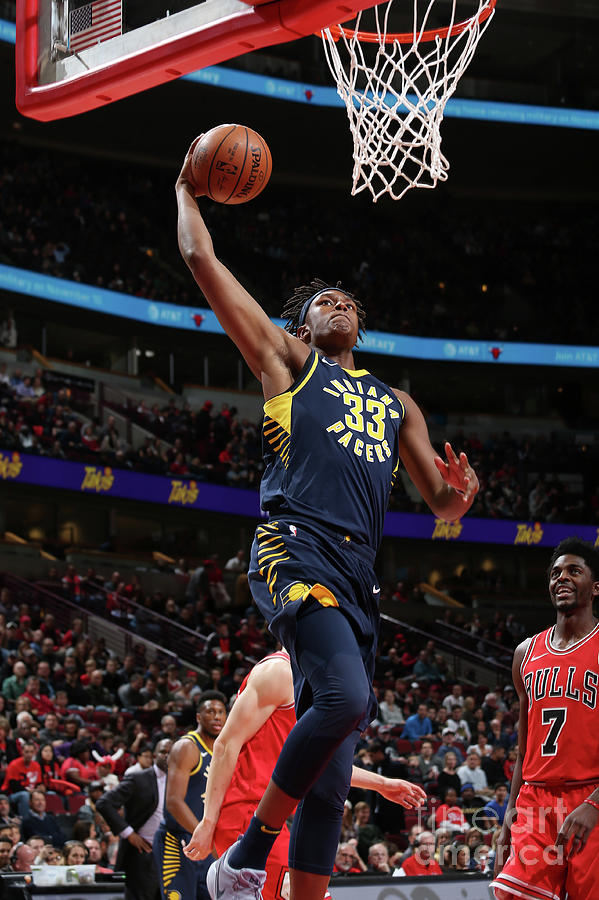 Myles Turner Photograph by Gary Dineen