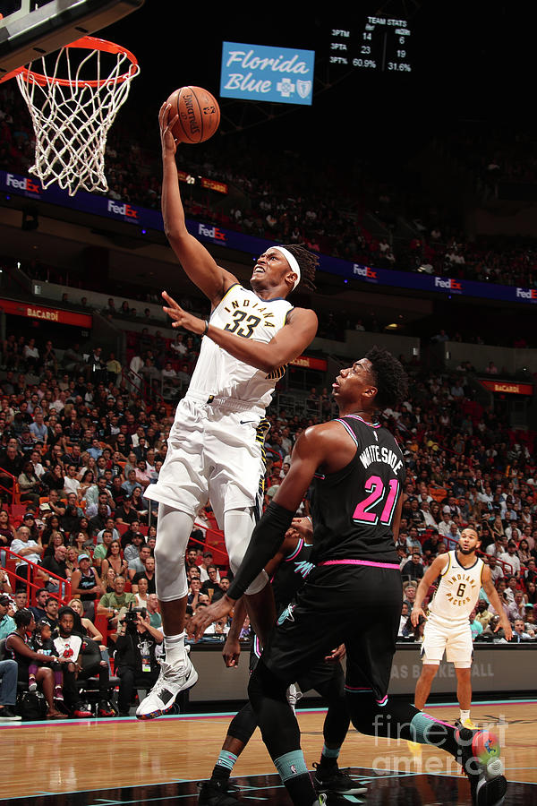 Myles Turner Photograph by Issac Baldizon