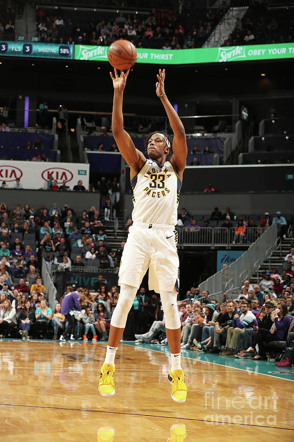 Myles Turner Photograph by Kent Smith