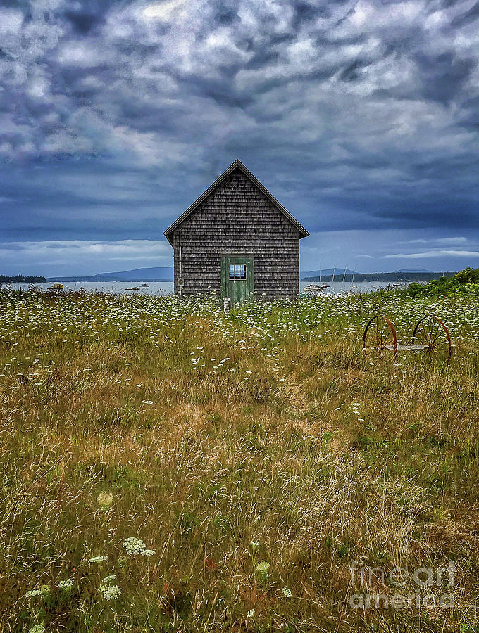 Maine Photograph - Mysterious Little Island in Maine by David Rucker
