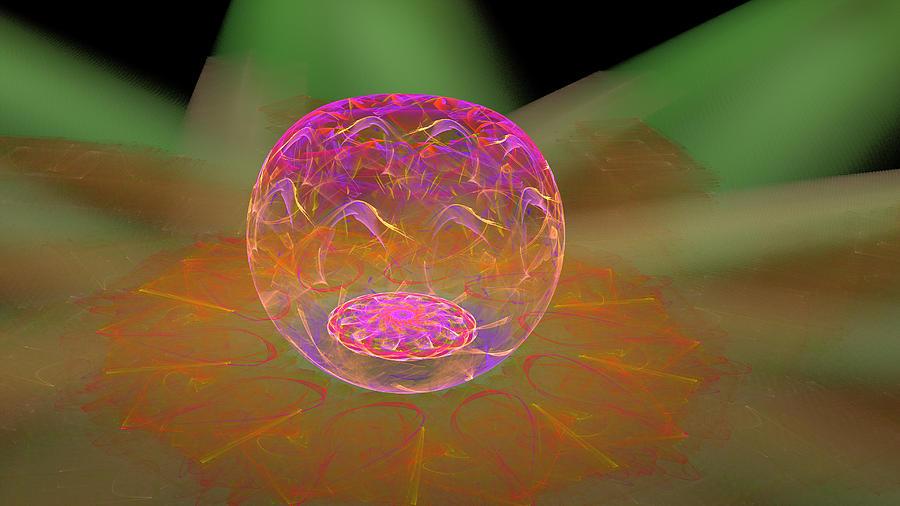 Mystic Crystal Bowl by Ronda Broatch