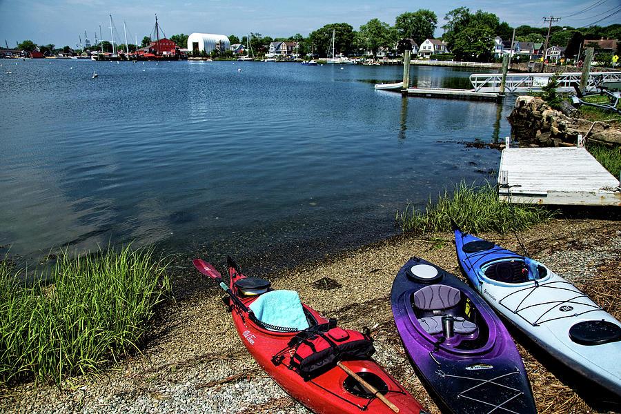Mystic Kayaking Photograph