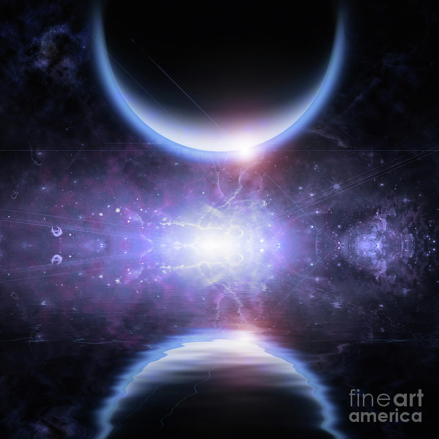 Mystic Planet Digital Art