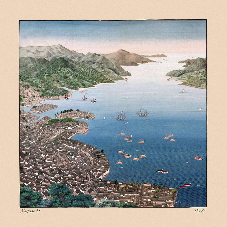Nagasaki 1820 Photograph
