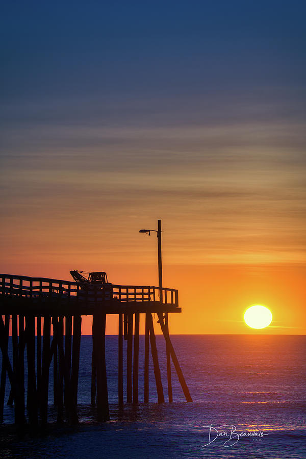 Nags Head Pier Sunrise 1184 Photograph