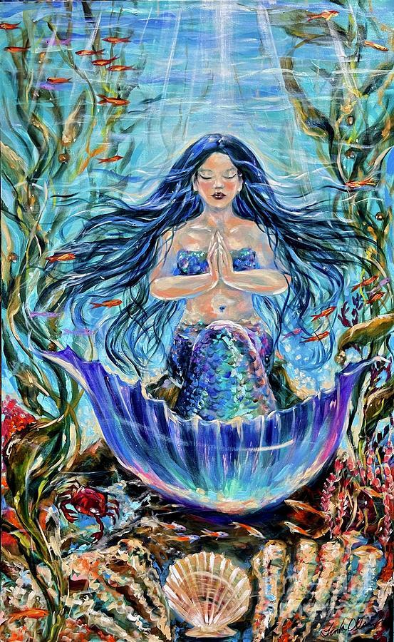Namaste by Linda Olsen