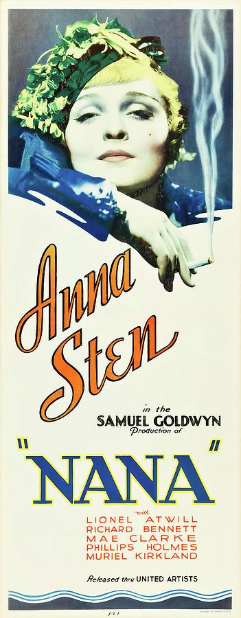 nana, With Anna Sten, 1934 Mixed Media