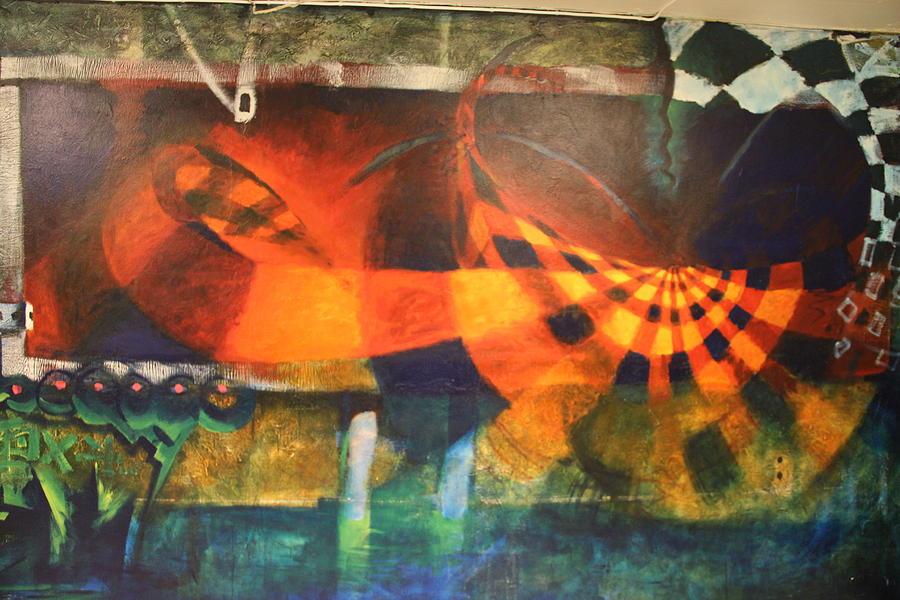 Nansen mural 2 - 2003 by Thomas Olsen