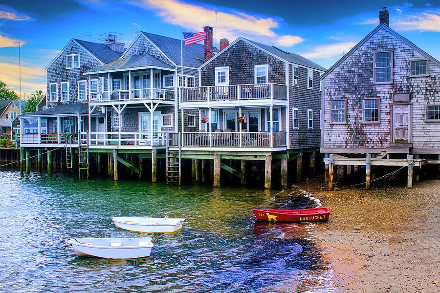 Nantucket Harbor 6139 by Carlos Diaz