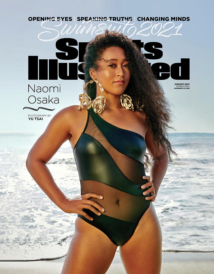 Naomi Osaka Sports Illustrated Swimsuit 2021 cover Photograph by Sports Illustrated