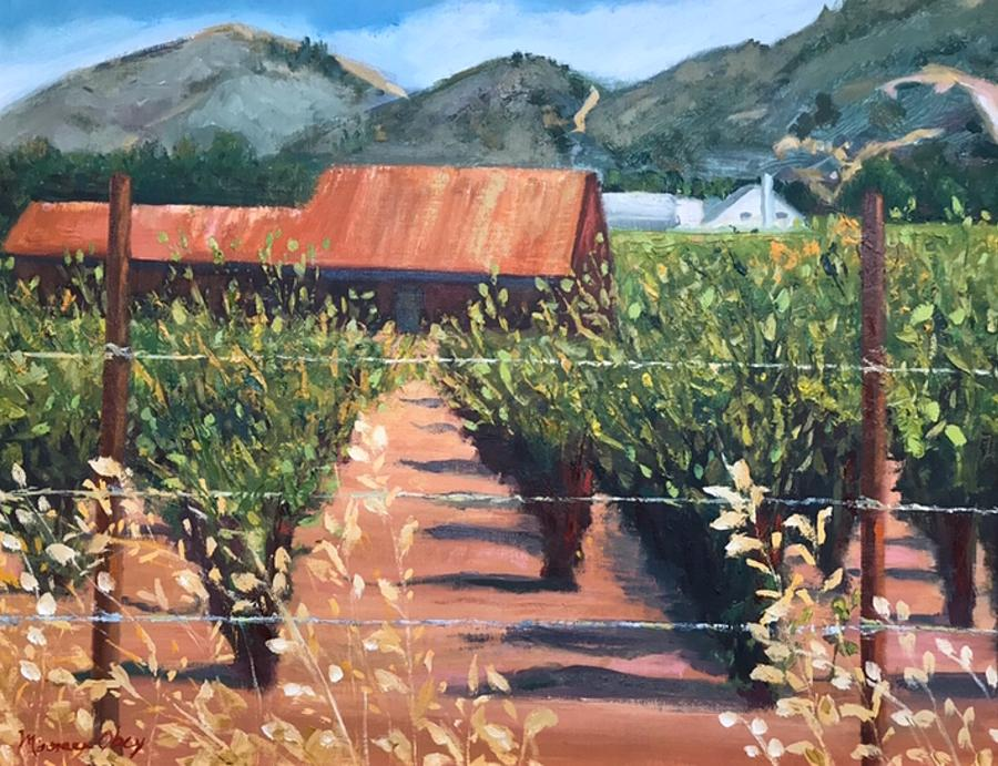 Napa Valley by Maureen Obey