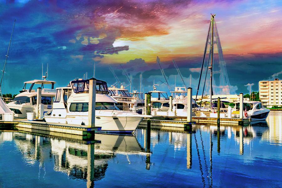 Naples Marina 0343 by Carlos Diaz