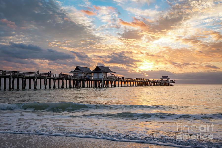 Naples Pier - Evening Florida Photograph
