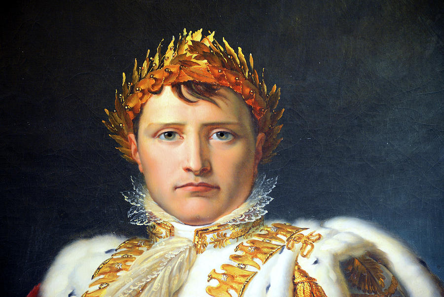 Napoleon In Coronation Robes Painting