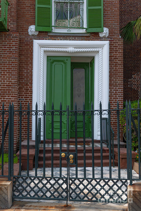 Narrow Is The Gate - Historic Charleston Home Photograph