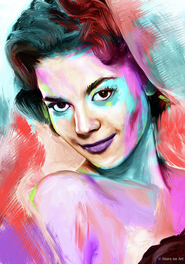 Natalie Wood Painting Painting