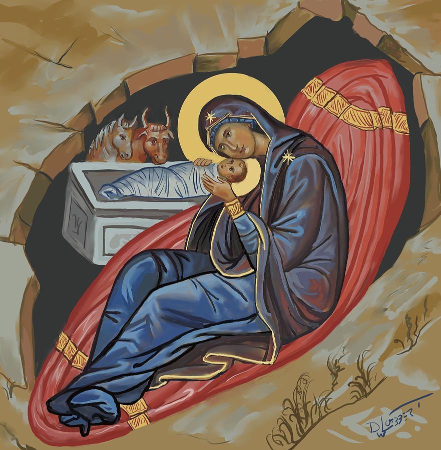 Nativity by David Luebbert