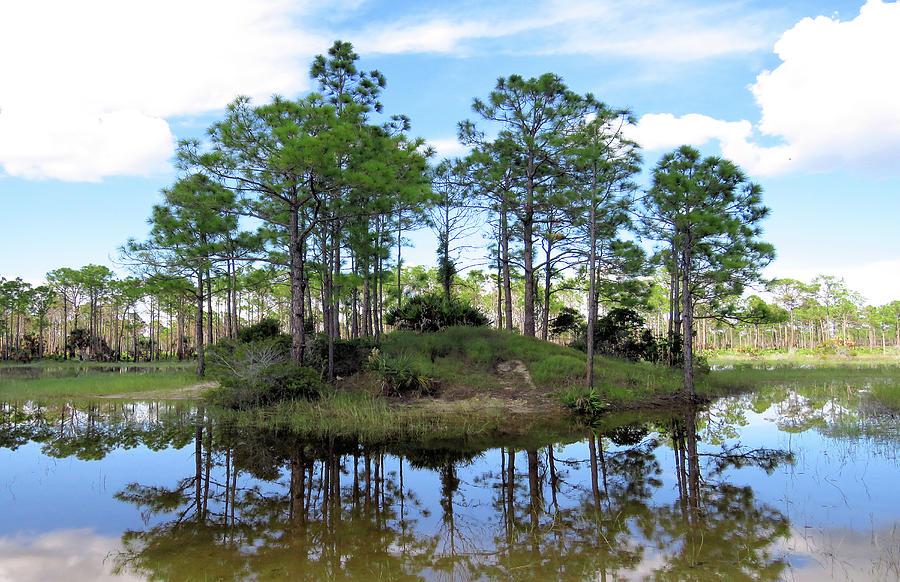 Natural Island Photograph