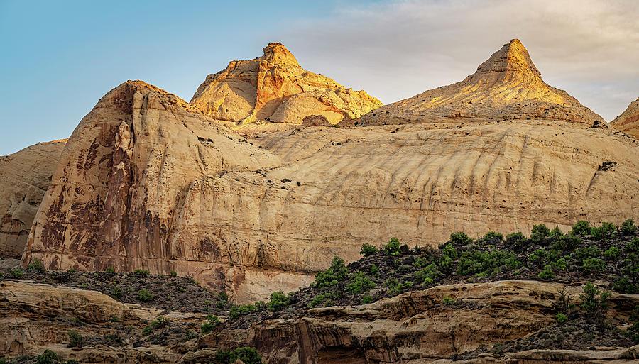 Navajo Dome Capitol Reef National Park Utah Photograph