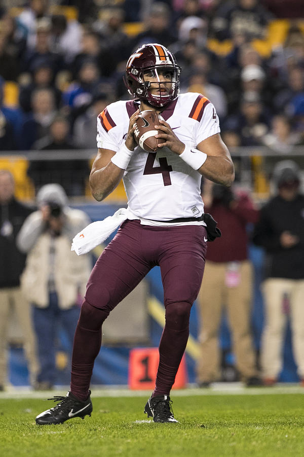 NCAA FOOTBALL: OCT 27 Virginia Tech at Pitt Photograph by Icon Sportswire