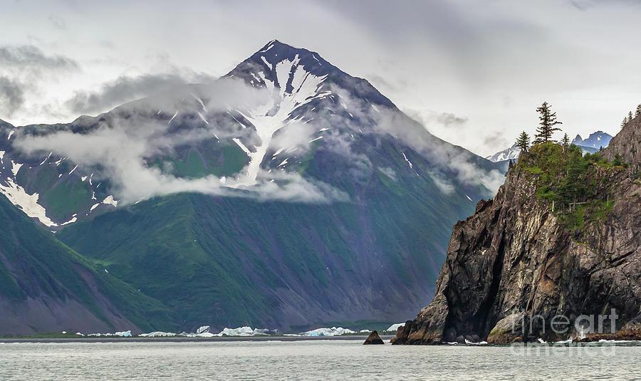 Near Resurection Bay, Kenai Fijords Np, Seward, Ak Photograph