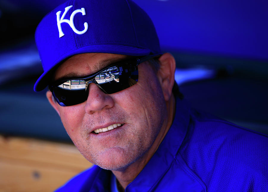 Ned Yost Photograph by Jamie Squire