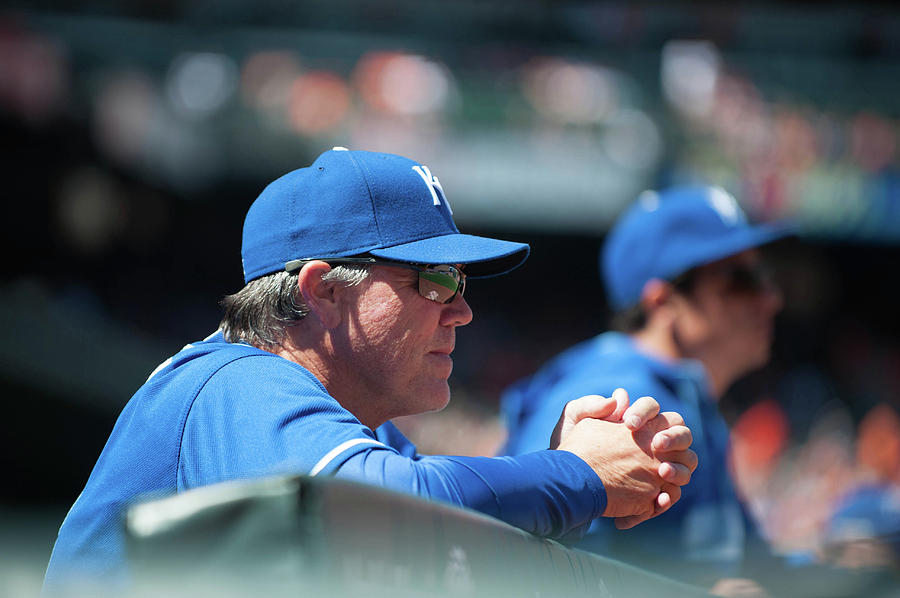 Ned Yost Photograph by Rob Tringali