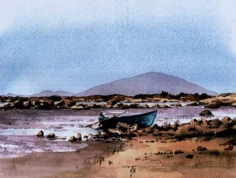 Neiphin from Lough Cullen, Mayo. by Val Byrne