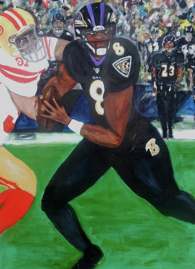 Baltimore Painting - Nemesis by Jorge Delara