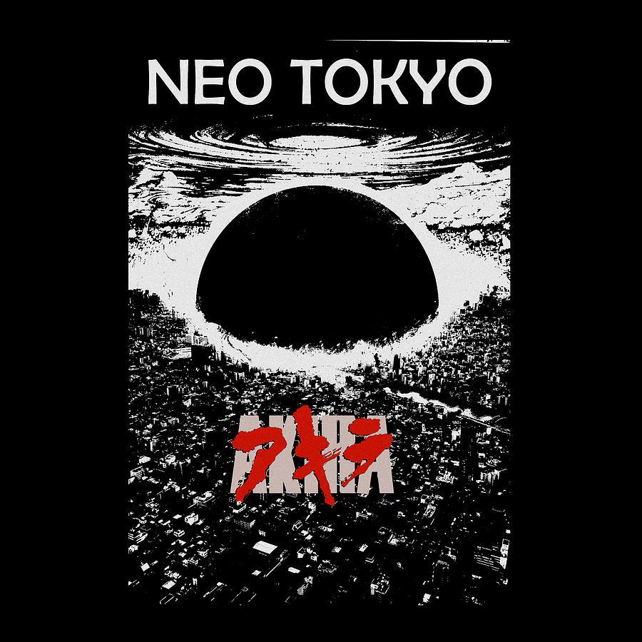 Neo Tokyo Akira Digital Art By Itok Hasto Sarwanto