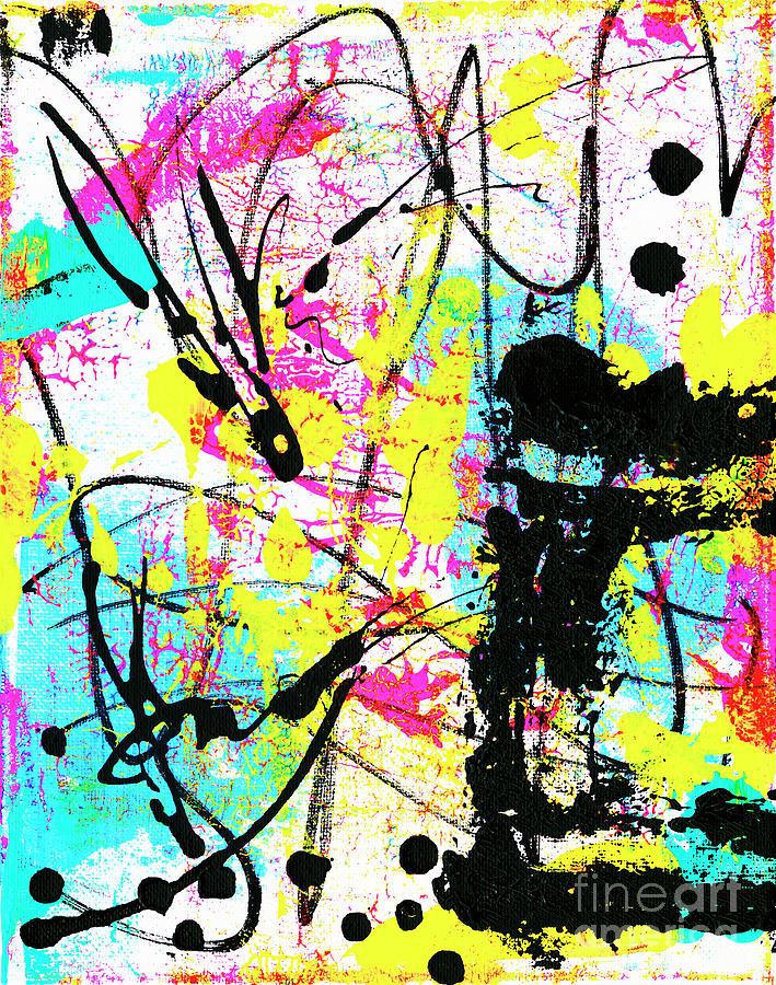 Neon 5 Painting