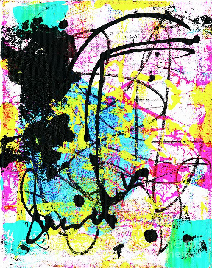 Neon 8 Painting