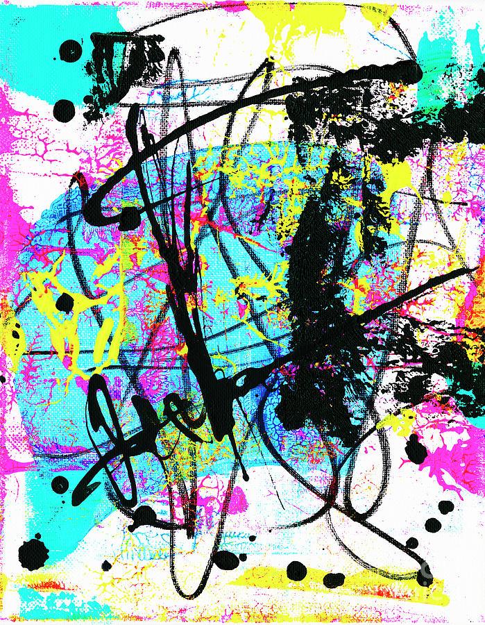 Neon 9 Painting