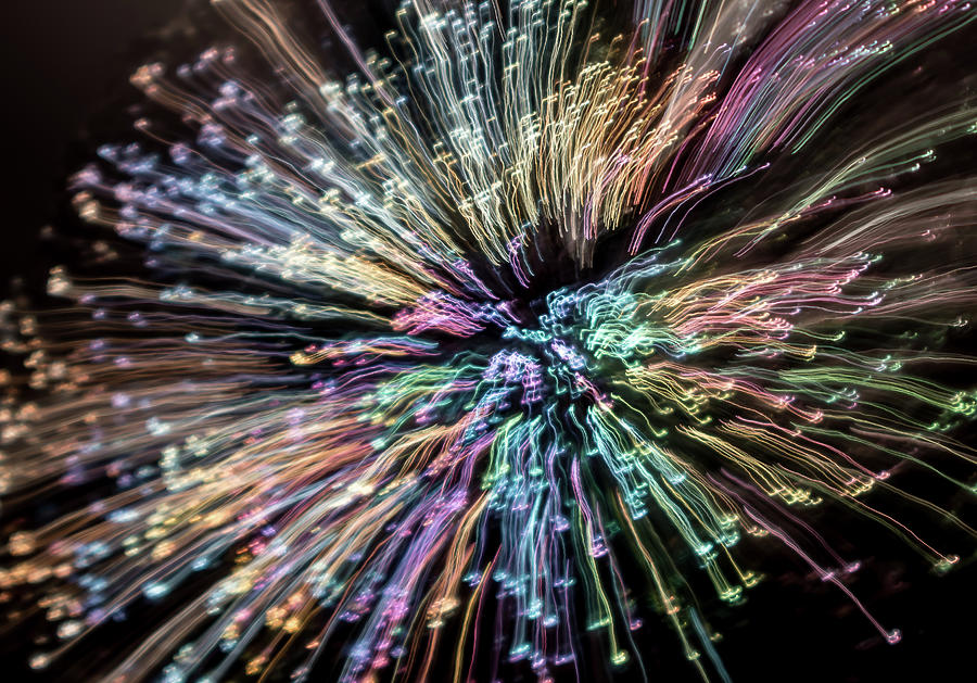 Neon Explosion Photograph