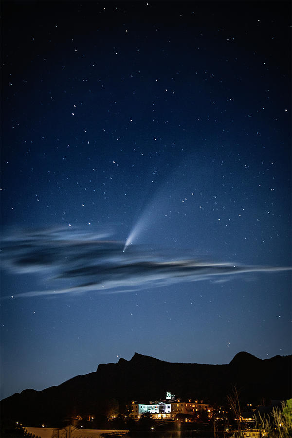 Comet Photograph - Neowise at The Stanely by G Wigler