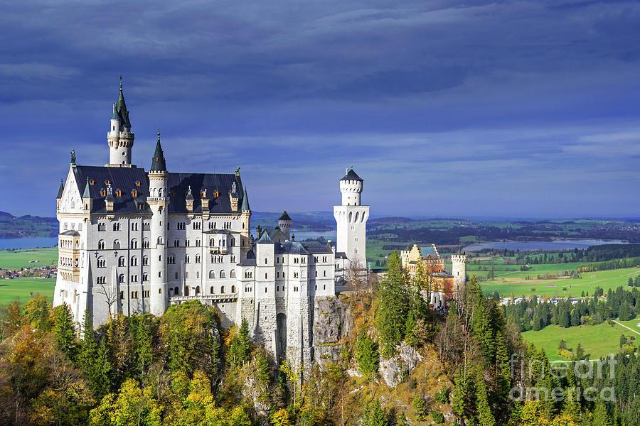 Neuschwanstein Castle by Arterra Picture Library