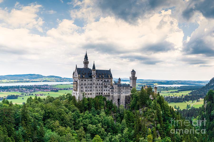 Neuschwanstein Castle Photograph