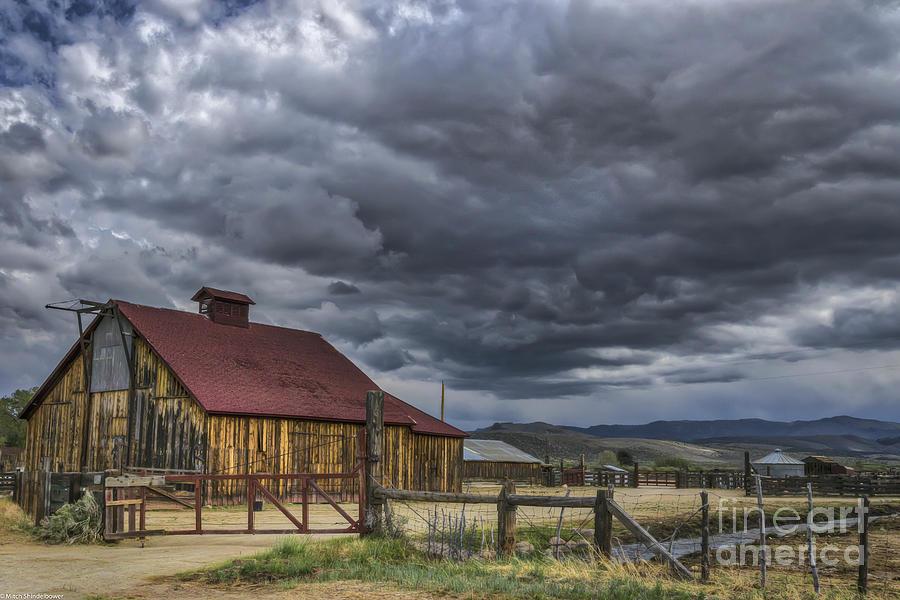 Nevada Spring Storm Photograph