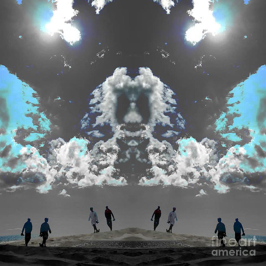 Clouds Digital Art - New Dawn by Alexandra Vusir