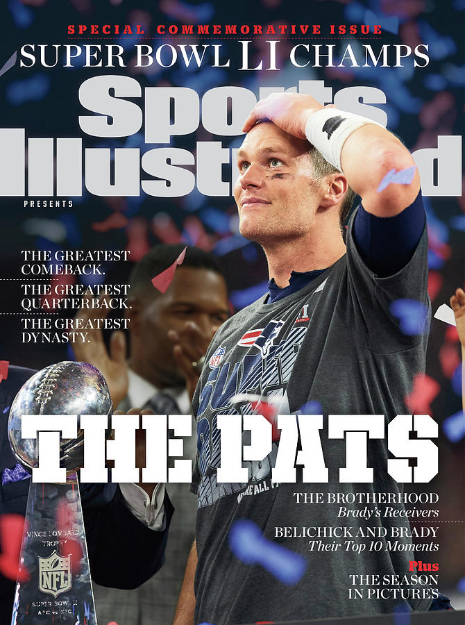 New England Patriots, Super Bowl LI Commemorative Issue Cover Photograph by Sports Illustrated