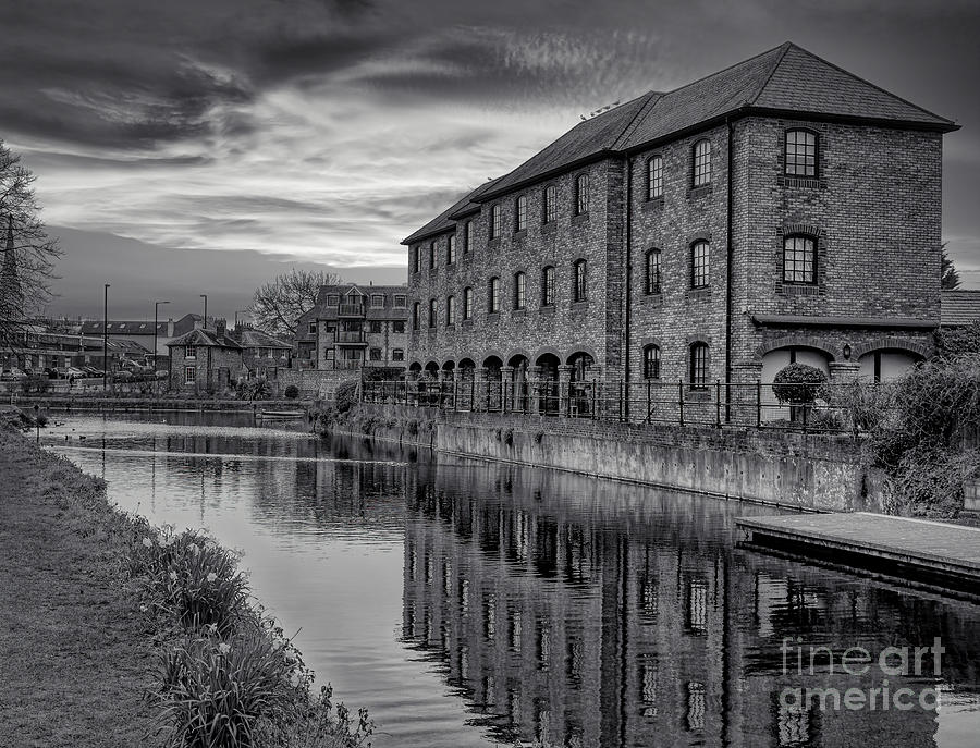 Monochrome Photograph - New Horizons 50 Slightly further down the footpath by Leigh Kemp
